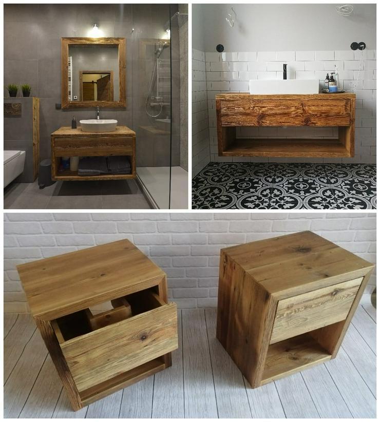 Maßgeschneiderte Badmöbel aus Altholz - ALLDECO aus Polen  - Schränke & Regale - Bild 1
