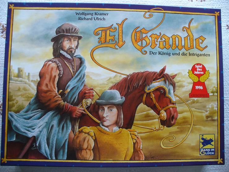 EL Grande - Spiel des Jahres 1996