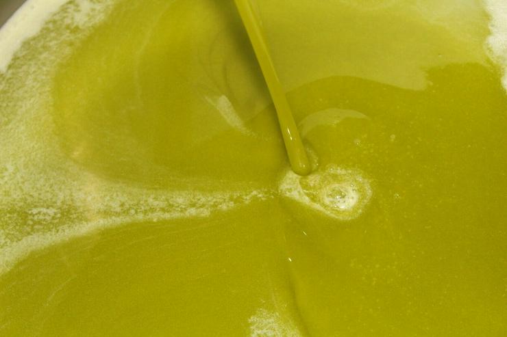 100% sizilianisches Olivenöl extra vergine Nocellara del belice Castelvetrano