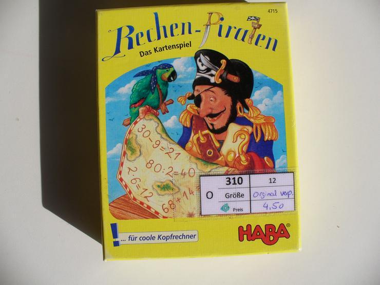 Rechen Piraten . Kartenspiel