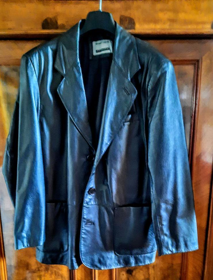 Herren-Leder-Jacke zu verkaufen - Größen 48-50 / M - Bild 1