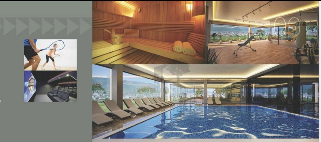 Moderne 4 Zimmer Maisonette-Wohnung Antalya Alanya