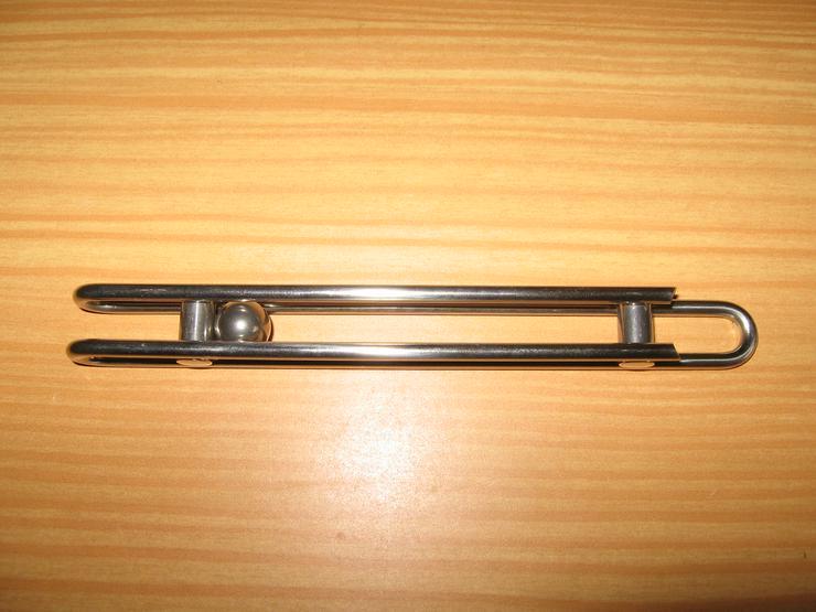 Design Flaschenöffner Metall  ca. 15 cm, mit beweglicher Kugel