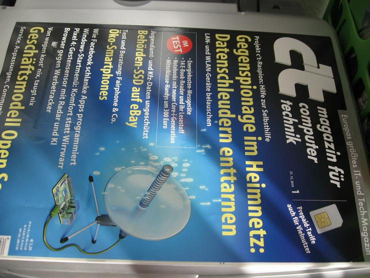 c`t – Magazin für Computer Technik 3 Exemplare