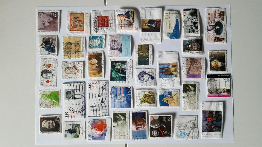 Briefmarken von Berühmtheiten,Jubiläumsbriefmarken und speziell aus Europa