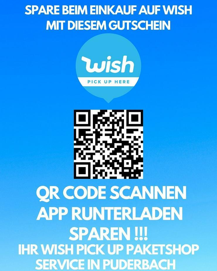 Wish Gutschein Jetzt Qr Code Scannen und Sparen - Games & Spiele - Bild 1