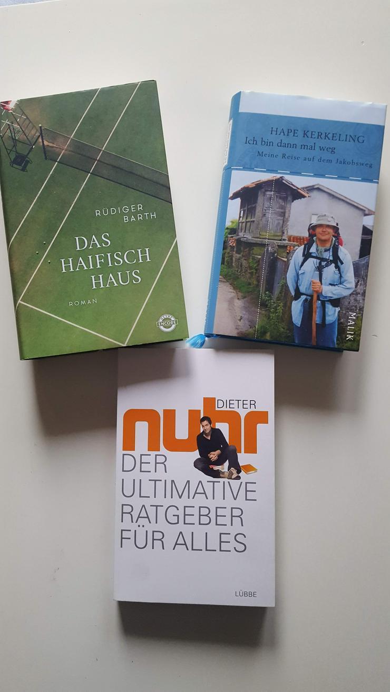 H.Kerkeling, Dieter Nuhr und Rüdiger Barth