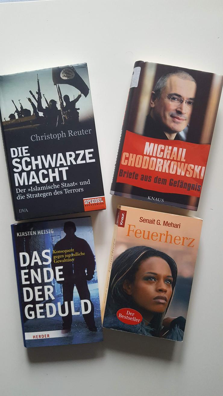 M.Chodorkowski, Chr. Reuter, S.G. Mehari und Kirsten Heisig - Romane, Biografien, Sagen usw. - Bild 1