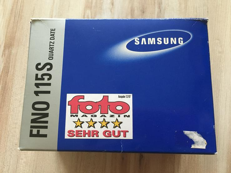 Bild 6: Samsung Fotocamera Fino 115S