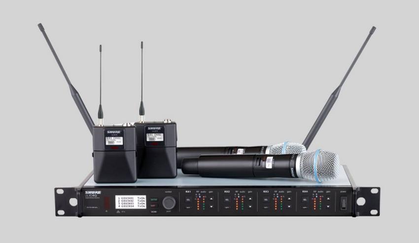 Shure ULX-D Mikrofon für anspruchsvolle Beschallungsanwendungen