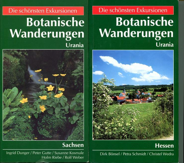 Die schönsten Exkursionen - botanische Wanderungen in Hessen und Sachsen
