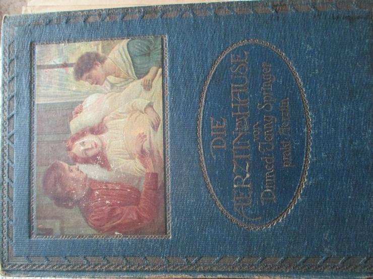 """""""Die Aerztin zu Hause"""", 2 antiquarische Bücher"""