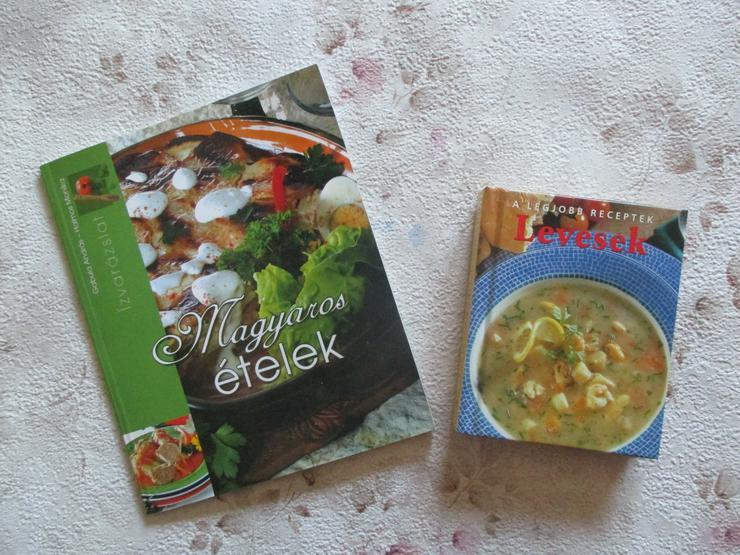"""Ungarisches Kochbuch """"Levesek"""" (Suppen)"""