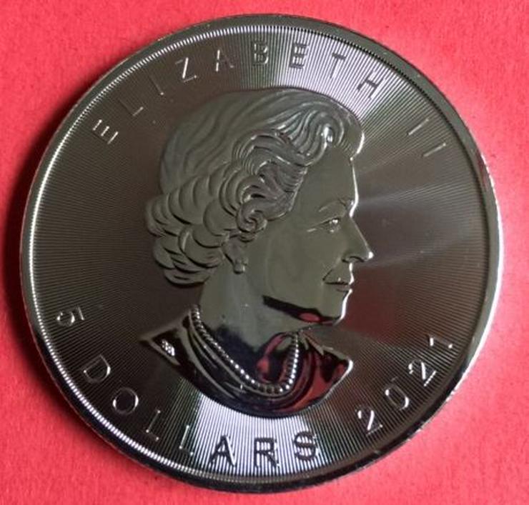 Bild 2: Silbermünze