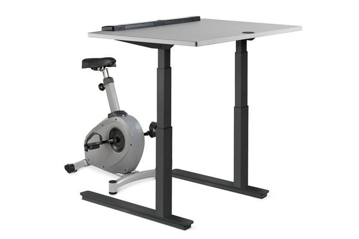 LifeSpan C3-DT7C Base Bike PRO + Desk with Automatic Adjustment