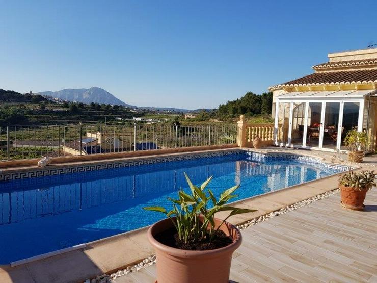 Komfortables, gemütliches Ferienhaus in Moraira/Benitachell an der Costa Blanca - Haus mieten - Bild 1