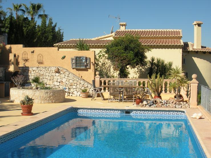 Bild 6: Komfortables, gemütliches Ferienhaus in Moraira/Benitachell an der Costa Blanca