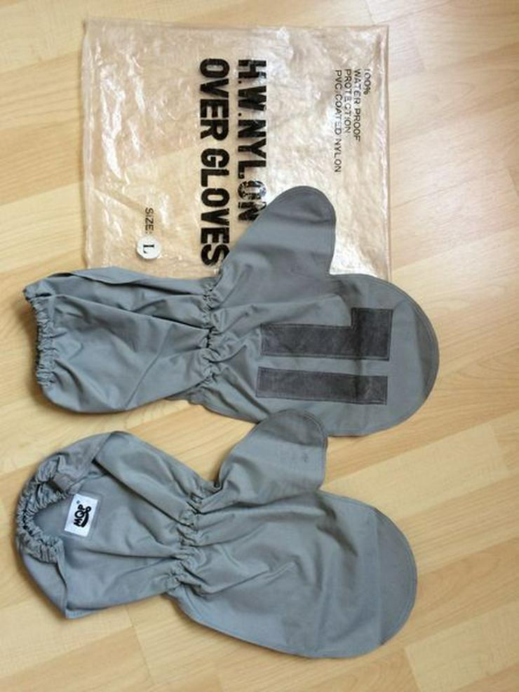 NEUWERTIG Gr. L Motorrad-Regenüberziehhandschuhe - Regenschutz - Bild 1