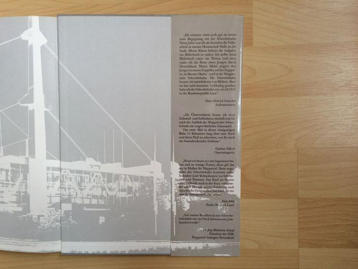 """Bild 4: UNGELESEN Text-/Bildband """"Die Wuppertaler Schwebebahn"""""""