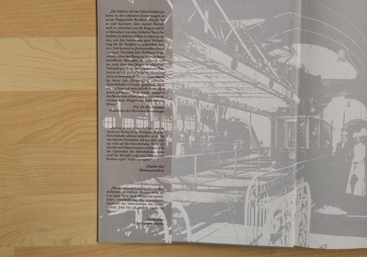 """Bild 3: UNGELESEN Text-/Bildband """"Die Wuppertaler Schwebebahn"""""""