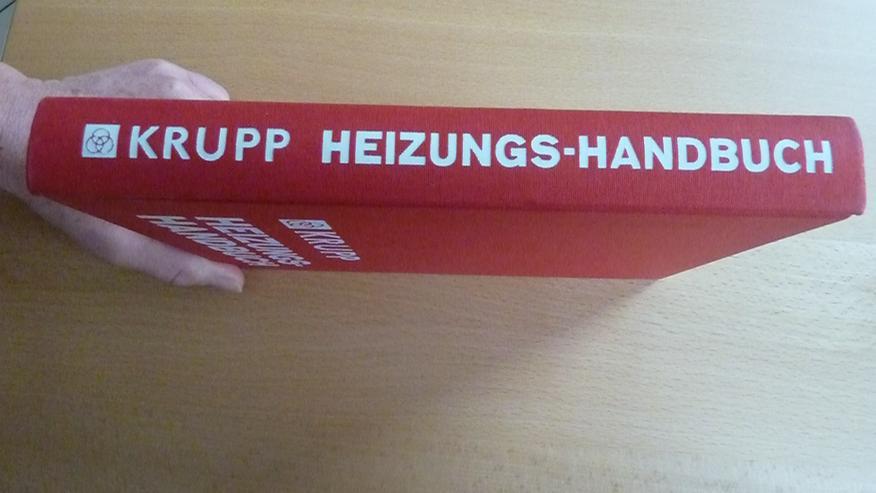 Bild 5: Krupp Heizungshandbuch v. 1972