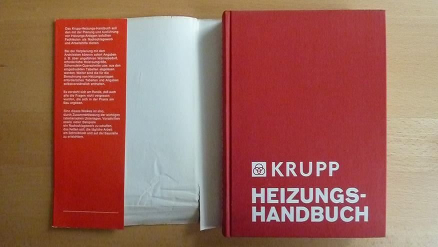 Bild 4: Krupp Heizungshandbuch v. 1972