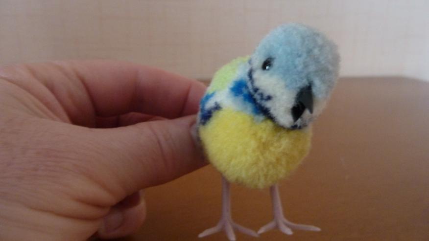 UNBESPIELT Original Steiff Woll-Miniaturvogel - Figuren - Bild 1