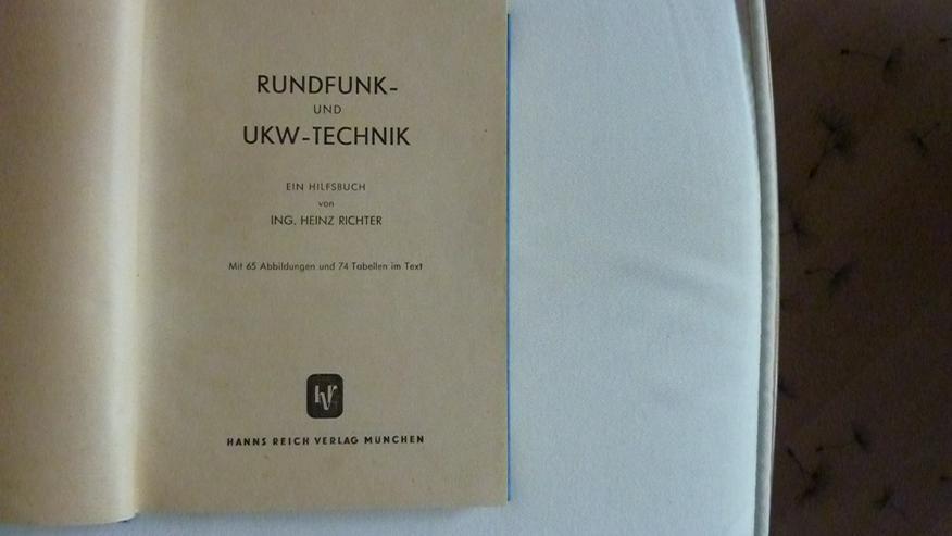 Bild 2: Hilfsbuch für Rundfunk und UKW Technik v. 1949