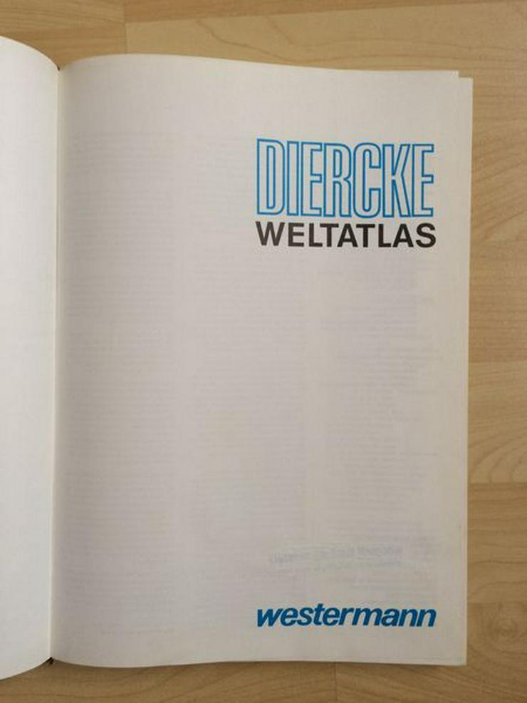 Bild 2: Diercke Weltatlas – gebraucht, 1A Zustand