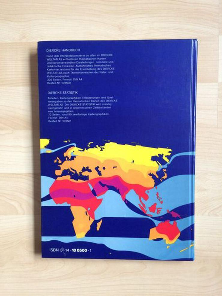Diercke Weltatlas – gebraucht, 1A Zustand - Reiseführer & Geographie - Bild 6