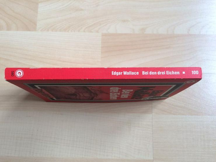 """Taschenbuch """"Bei den drei Eichen"""" v. Edgar Wallace - Romane, Biografien, Sagen usw. - Bild 4"""