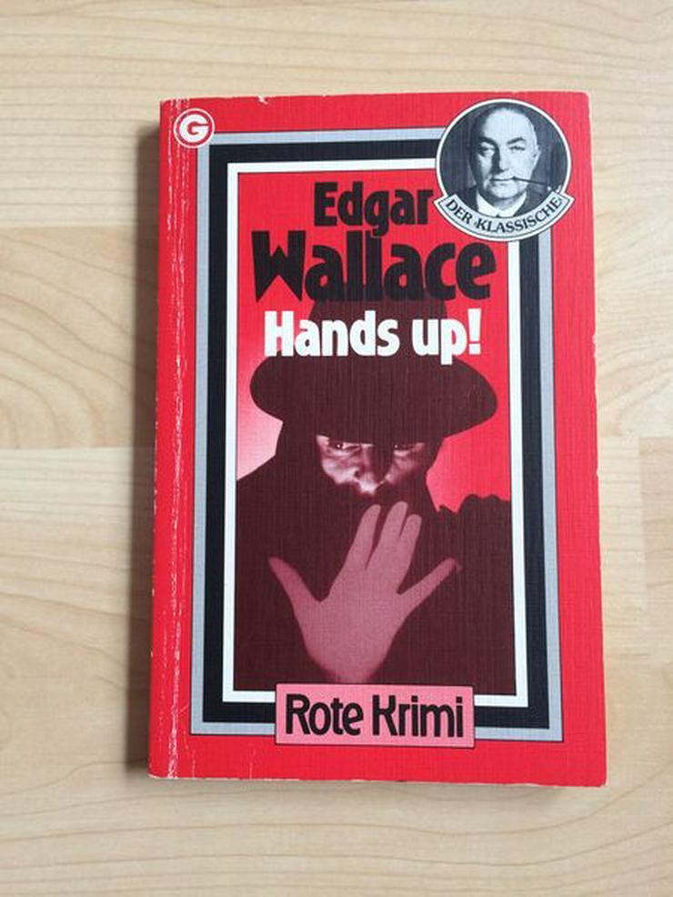 """Taschenbuch """"Hands up!"""" v. Edgar Wallace - Romane, Biografien, Sagen usw. - Bild 1"""