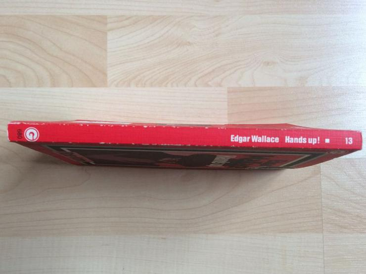 """Bild 4: Taschenbuch """"Hands up!"""" v. Edgar Wallace"""