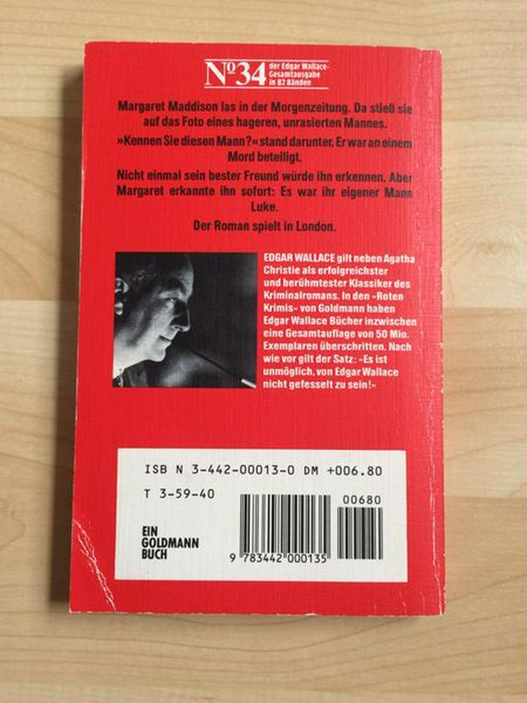 """Bild 3: Taschenbuch """"Hands up!"""" v. Edgar Wallace"""