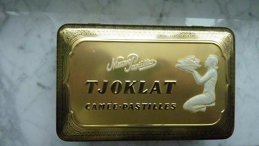 Bild 5: Tjoklat Schokoladen-Blechdose v. Anfang 1970er