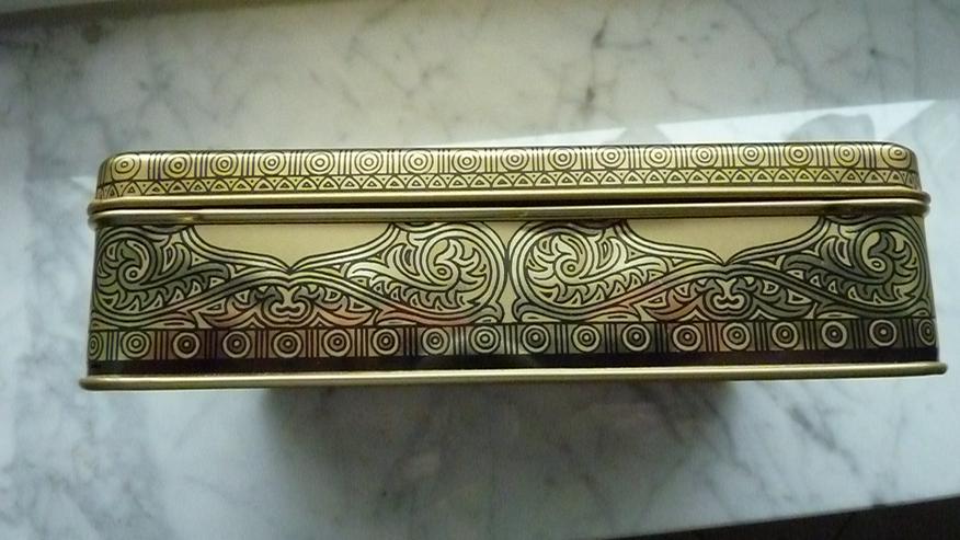Bild 4: Tjoklat Schokoladen-Blechdose v. Anfang 1970er