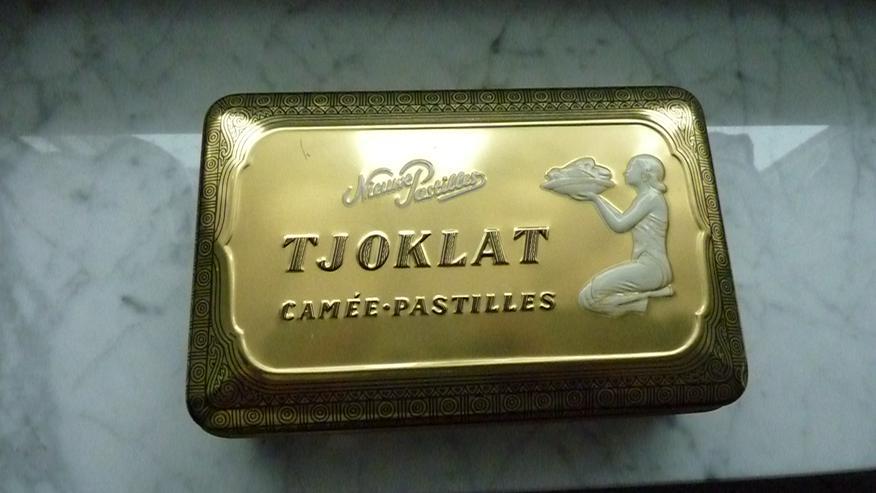 Tjoklat Schokoladen-Blechdose v. Anfang 1970er - Weitere - Bild 1