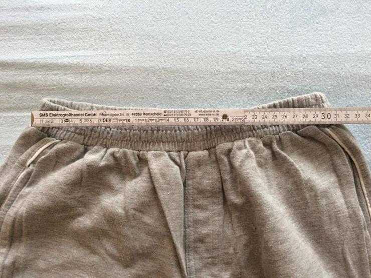 Bild 2: NEU Sweathose, h'grau, 6/8 Länge, Gr. 182/188
