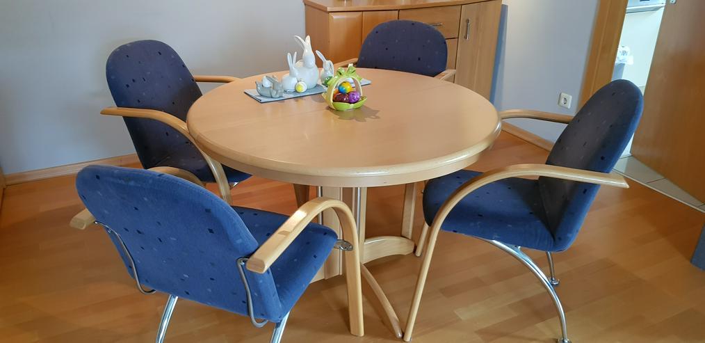 Esstisch mit 4 Stühlen modern
