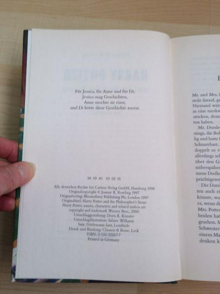 Bild 2: NEU / UNGELESEN: Harry Potter und der Stein der Weisen