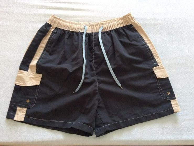 NEU Shorts d'blau/beige, Gr. 170/176