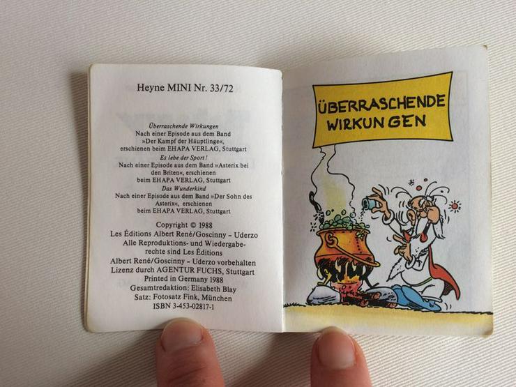 "Bild 2: Asterix Heyne Mini ""Der Zaubertrank""/ v. 1988"
