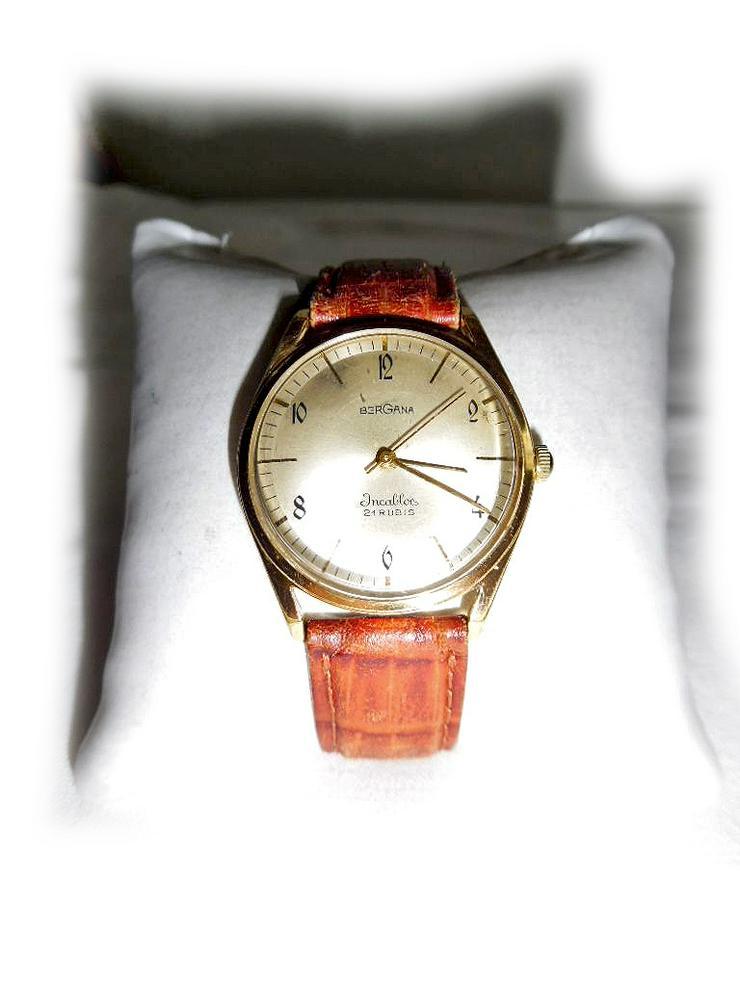 Seltene Armbanduhr von Bergana