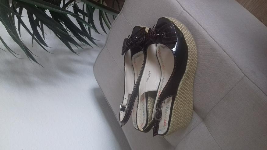 Bild 2: ** Plateau Schuhe von Emilia ** Gr. 37, Versand möglich