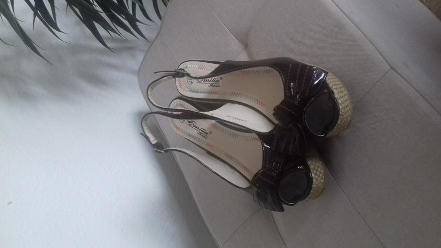 ** Plateau Schuhe von Emilia ** Gr. 37, Versand möglich  - Größe 37 - Bild 1