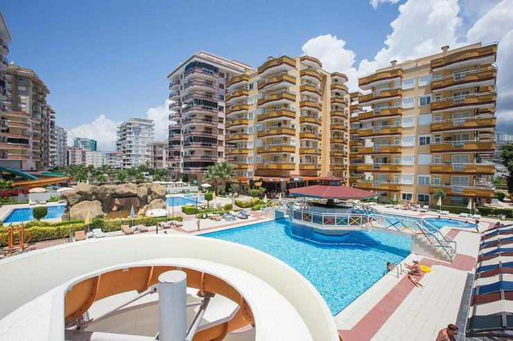 Türkei, Alanya. möblierte  3 Zi. Wohnung, 150 m zum  Strand. 473 - Ferienwohnung Türkei - Bild 1