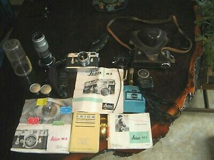 Leica M3 Kamera mit Extras