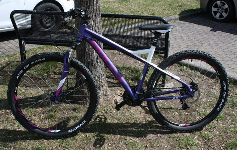 Bild 2: Bulls Zarena 1 Lady Cross Country MTB 27,5 Zoll 650b 24 Gang Hardtail Mountainbike lila/weiß