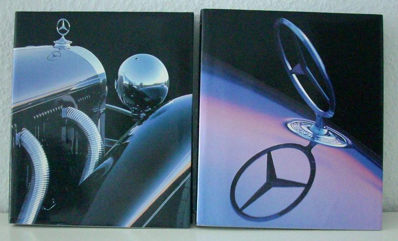 Bild 3: Doppelband Mercedes Volume 1+2, R.W. Schlegelmilch H. Lehbrink, 1997, 3-89508-899-4