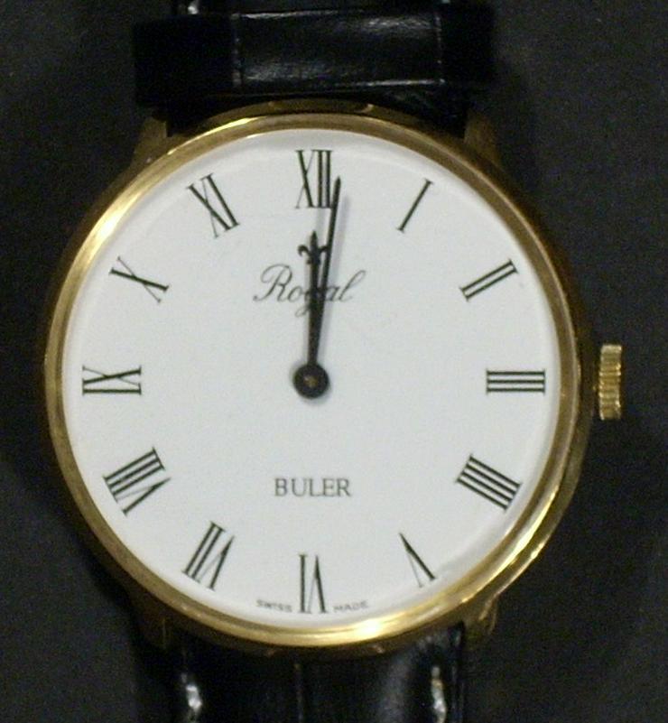 Armbanduhr ROYAL BULER Swiss